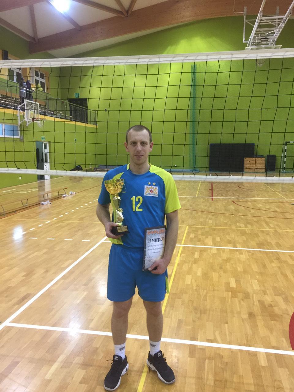 Кропивницький рятувальник очолив збiрну з волейболу (ФОТО)