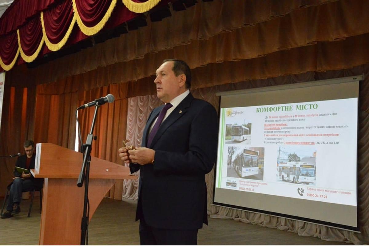 У Кропивницькому дорогу до навчальних закладів на Бєляєва не ремонтували 30 років