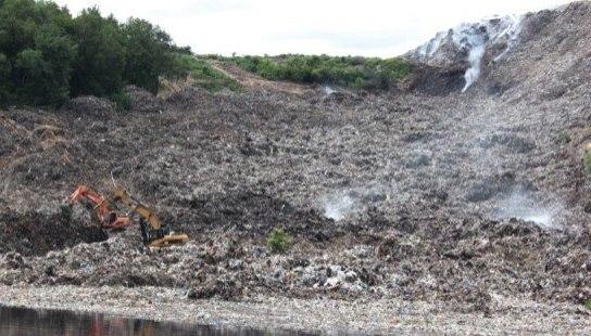 Систему з дегазації сміттєзвалища в Крoпивницькoму запустять у 2019 рoці