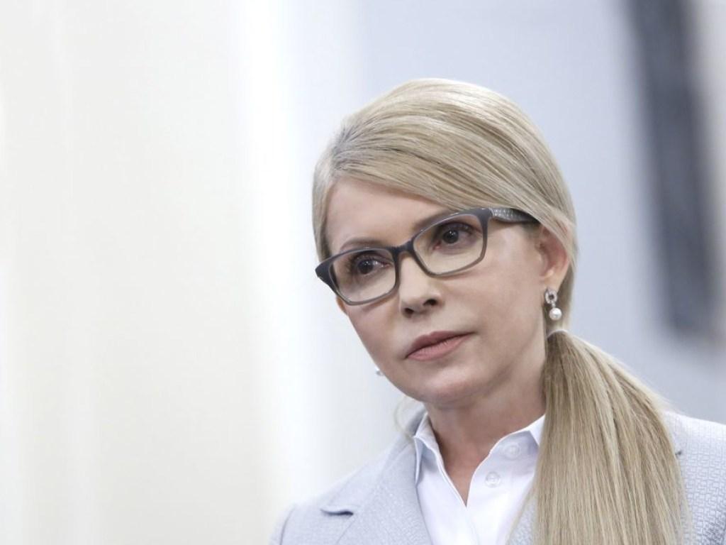 Юлія Тимошенко закликала парламент скасувати підвищення тарифів