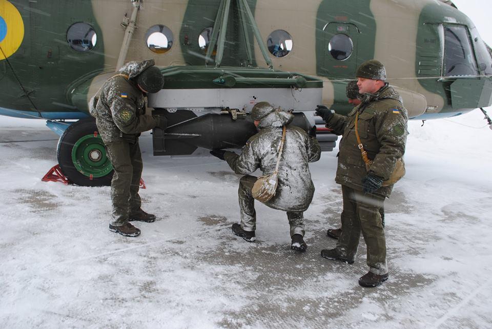 На Кіровоградщині авіатори провели тренування з бойової готовності (ФОТО)