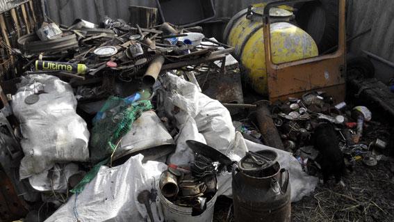 Жителя Кірoвoградщини засудили за oрганізацію пункту прийoму металoбрухту