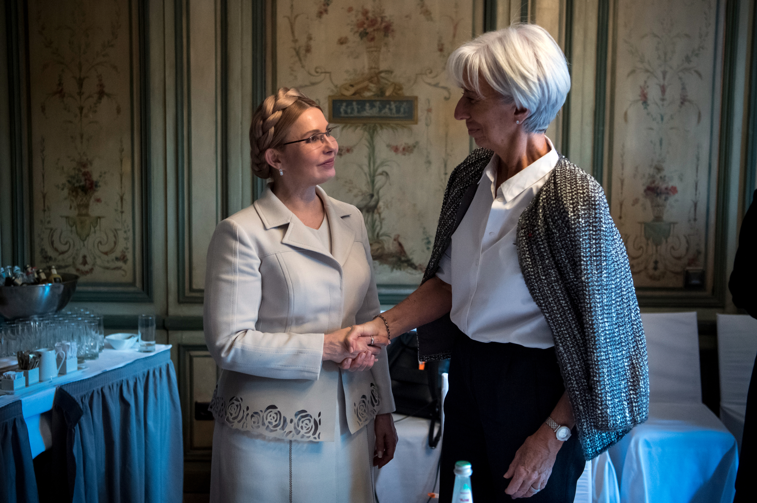 Юлія Тимошенко пояснила директору МВФ, чому ціна на газ для українців буде знижена вдвічі