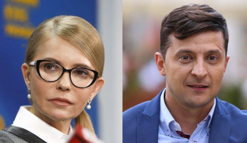 Юлія Тимошенко та Володимир Зеленський виходять у другий тур, – дані опитувань з 18 тис. дільниць