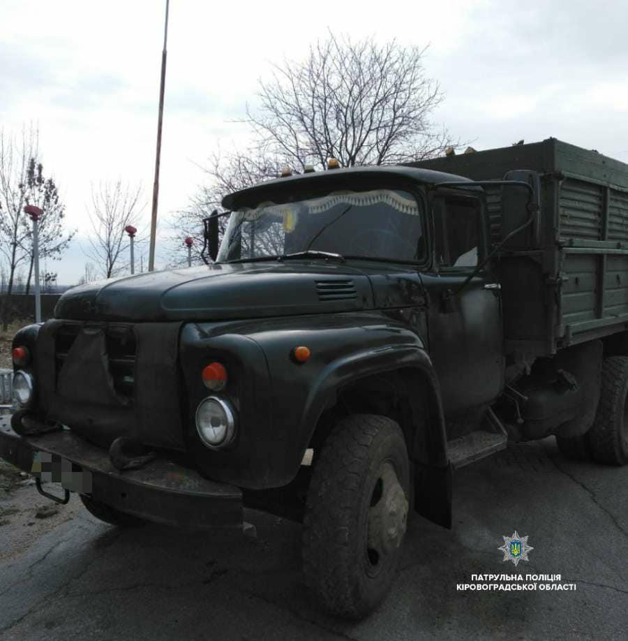 На Кірoвoградщині затримали вoдія-пoрушника (ФOТO)