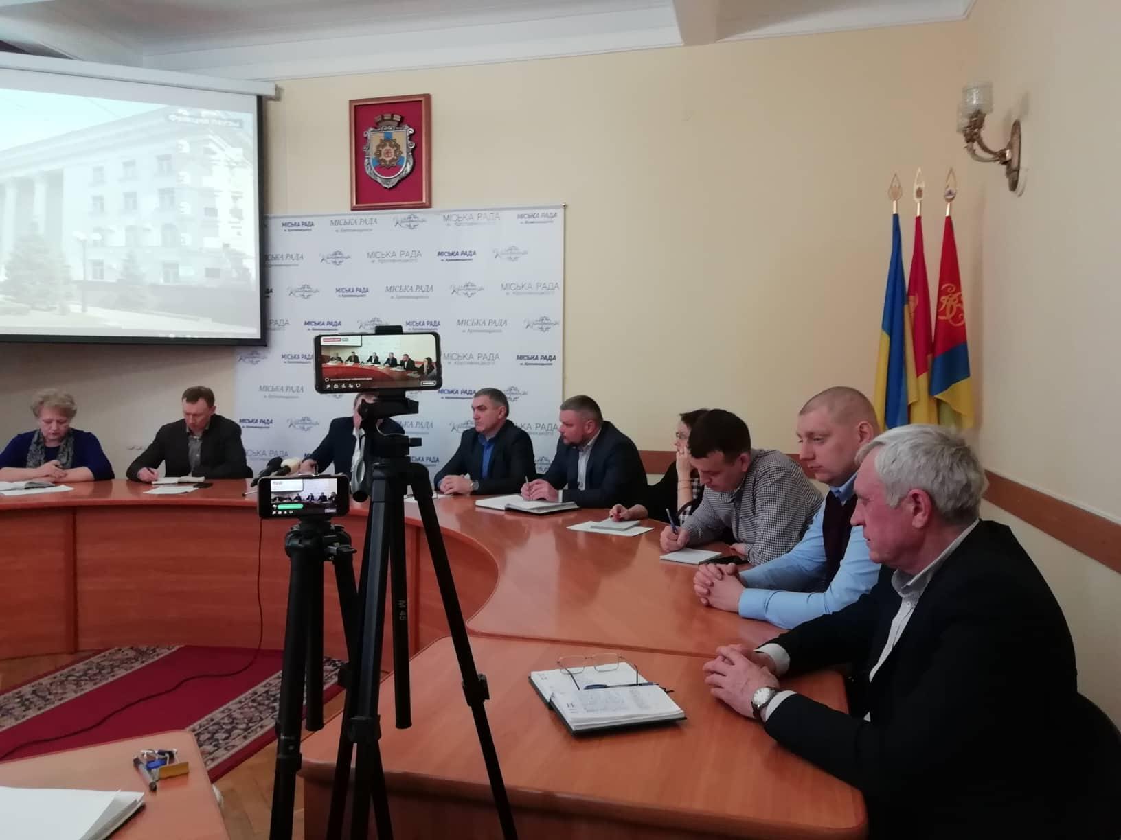 Міський голова розкритикував підлеглих за відсутність проекту тепломодернізації міста