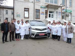 На Кіровоградщині для лікарні придбали авто Toyota (ФОТО)