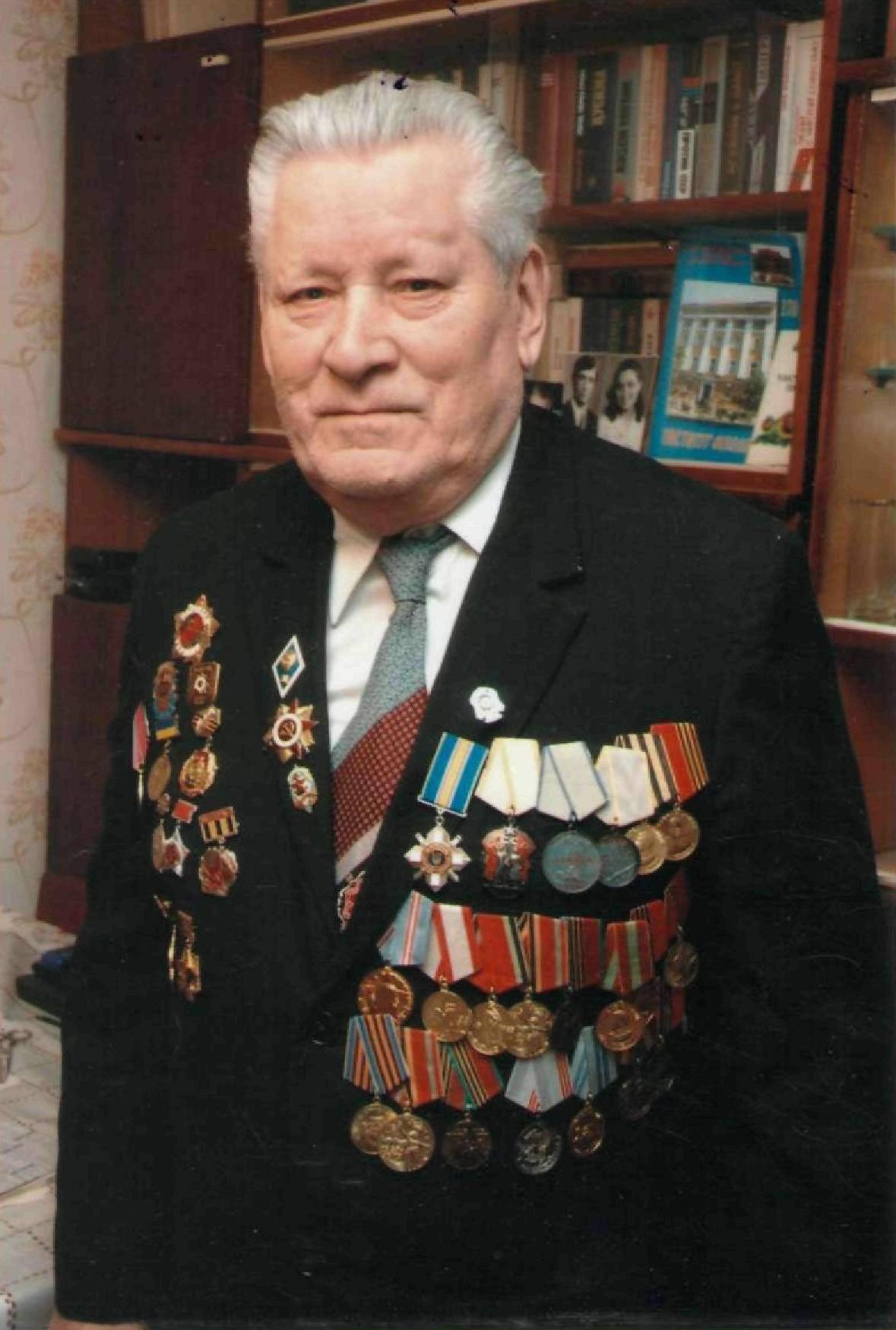 До 95 – річчя від дня народження ветерана війни і праці Марка Пилиповича Линченка