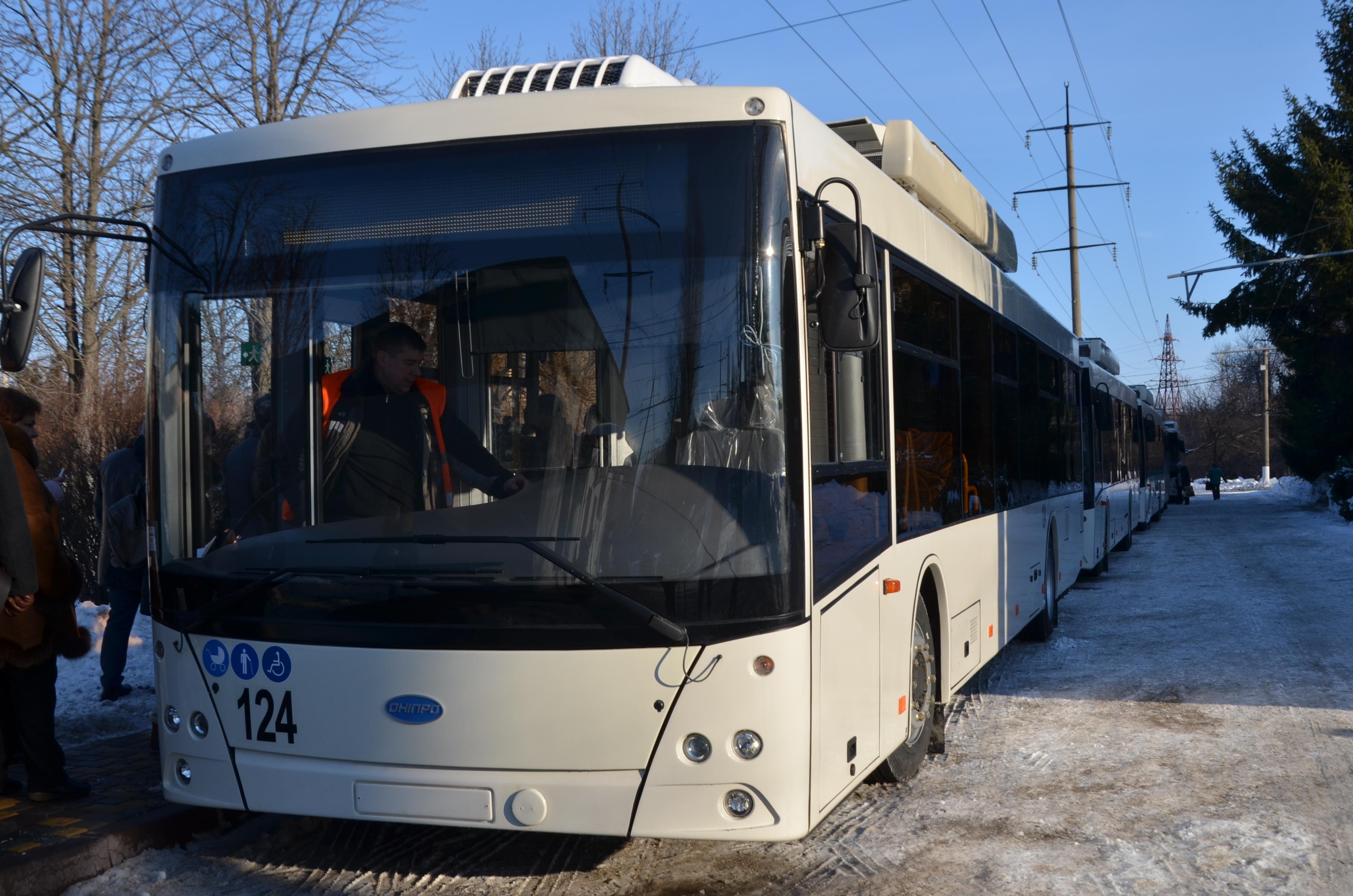 У Кропивницькому змінено схему маршруту тролейбусу №5