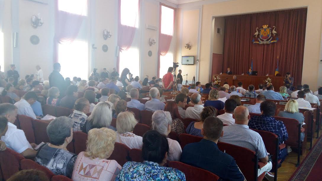 Реабілітація кропивницьких депутатів на сесії міськради