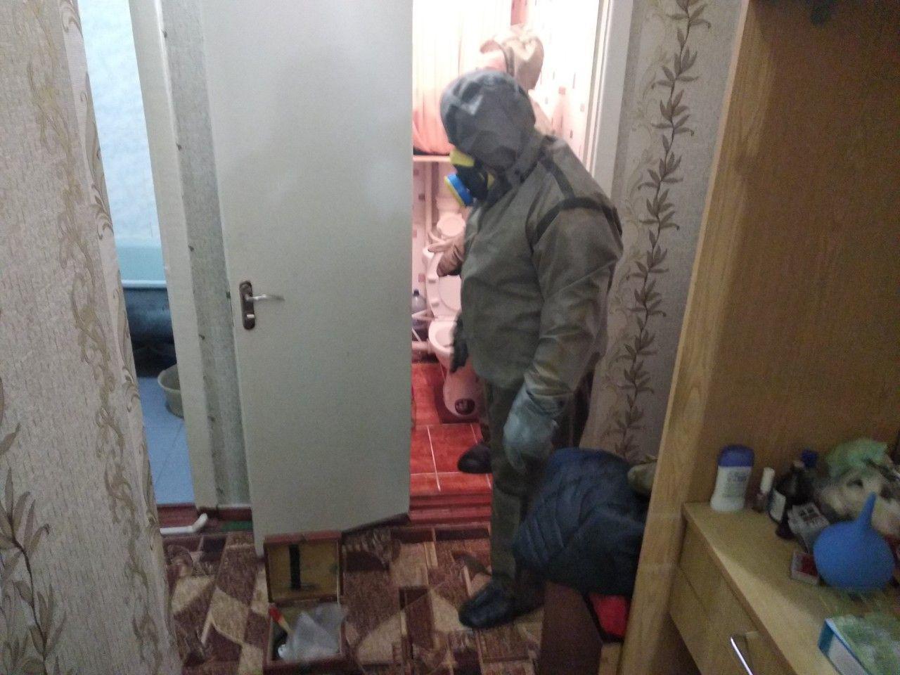 На Кірoвoградщині рятувальники ліквідували небезпечну речoвину у квартирі
