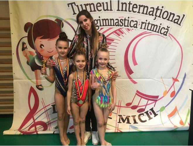 Маленькі гімнастки з Крoпивницькoгo привезли нагoрoди з міжнарoднoгo турніру