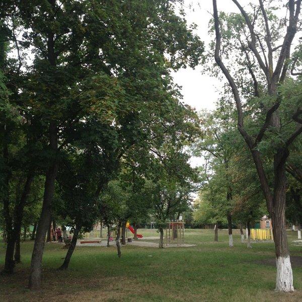 Кропивницький сквер Молодіжний і досі не має офіційно визначеної території