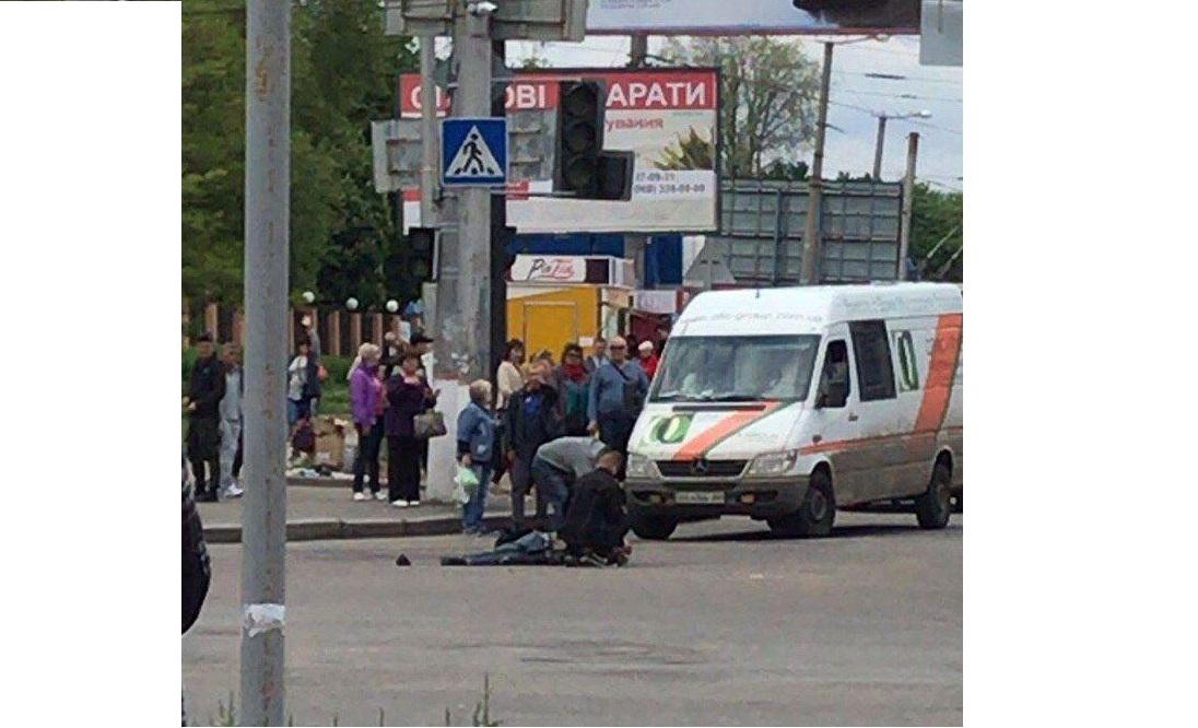 У Кропивницькому під час ДТП помер дідусь