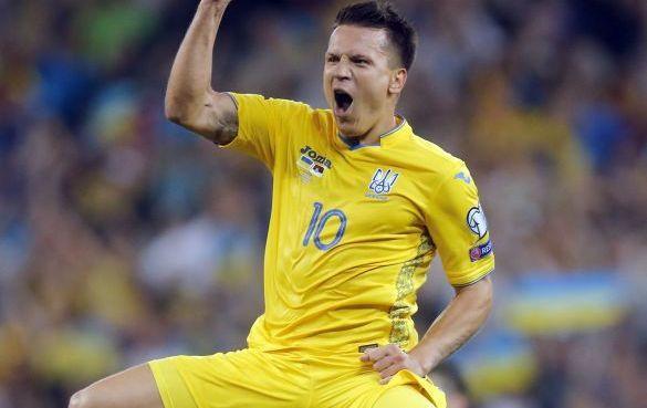 Півзахисник збірної України з Кіровоградщини відзначився у матчі з Сербією (ВІДЕО)