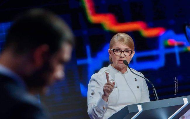 Юлія Тимошенко висміяла спроби Володимира Гройсмана видати себе за «нове обличчя» і попередила про відповідальність за корупцію