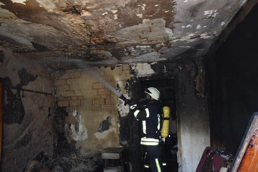 У Кропивницькому пiд час пожежi знайшли тiло чоловiка (ФОТО)