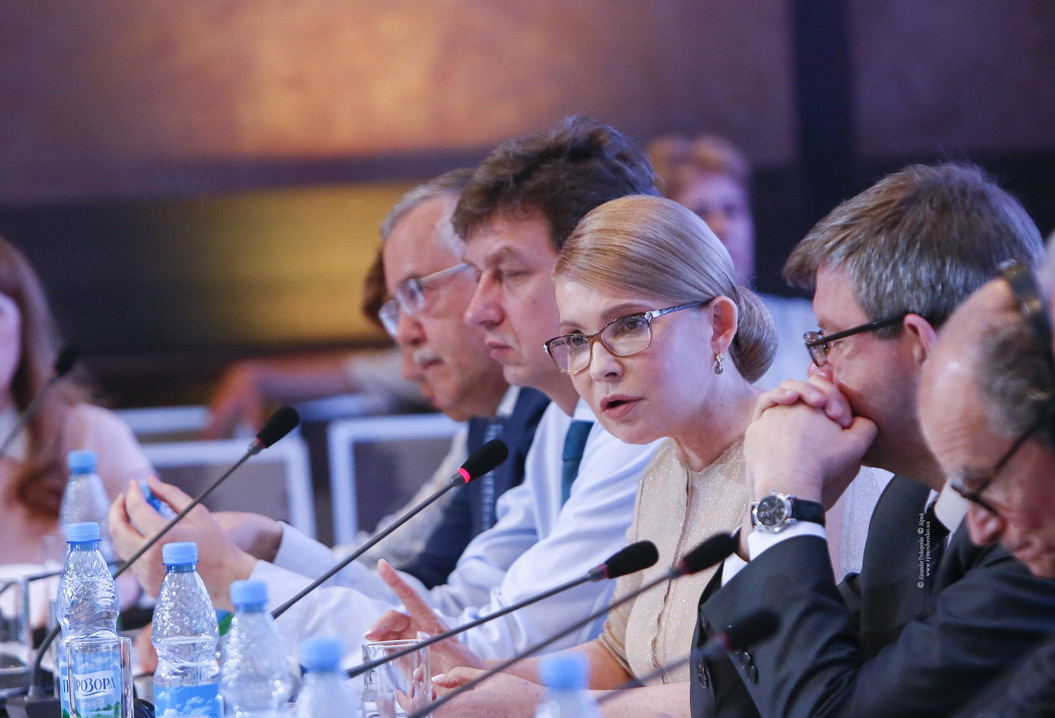 Юлія Тимошенко: Тільки системні зміни дадуть результат