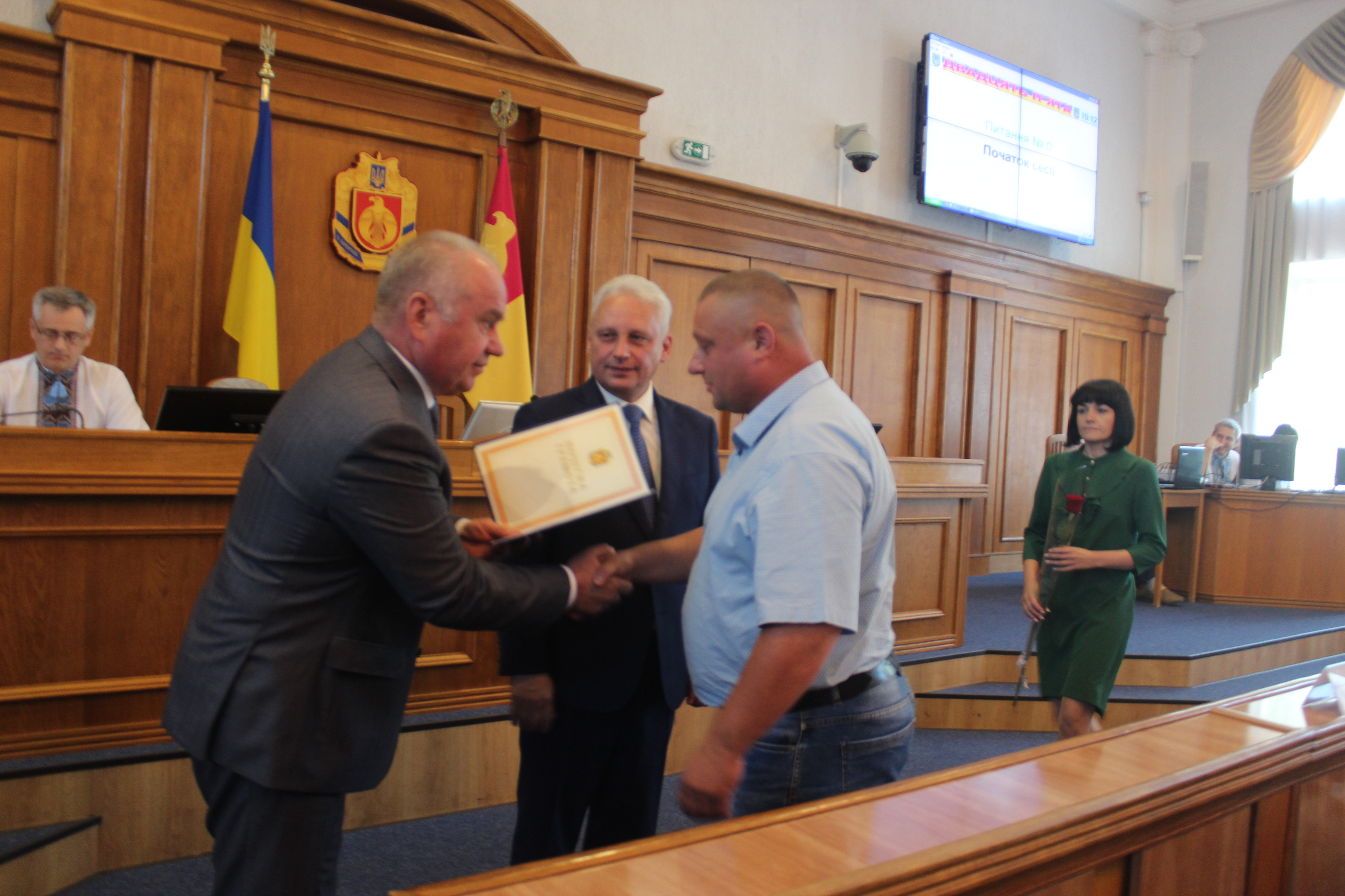 У Кропивницькому відзначили захисників України (ФОТО)