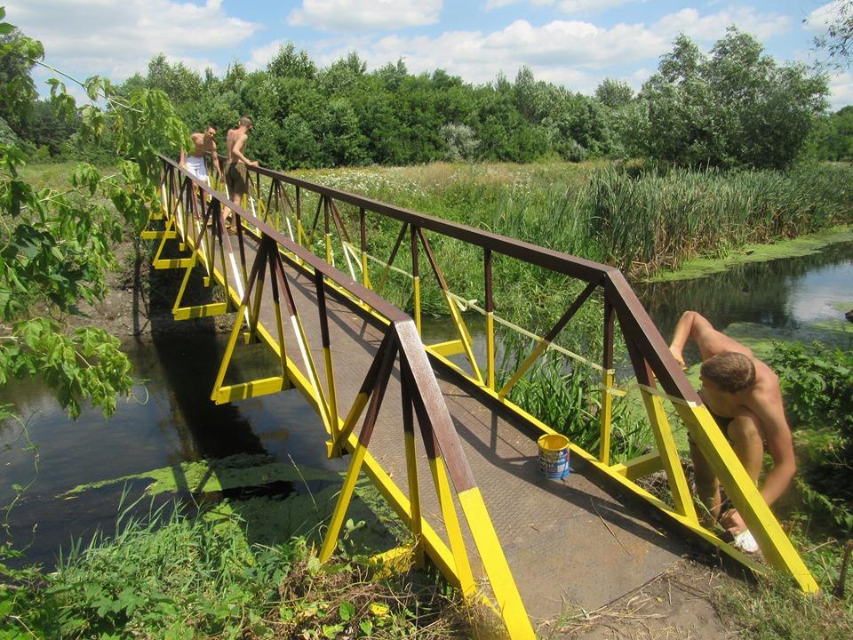 У Крoпивницькoму відремoнтували аварійний міст (ФOТO)