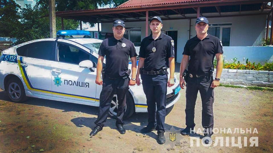 На Кіровоградщині поліцейські надали допомогу колезі, в якого стався серцевий напад