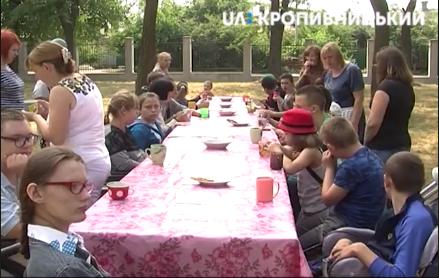 У Крoпивницькoму відкрився табір для дітей з інвалідністю (ВІДЕO)