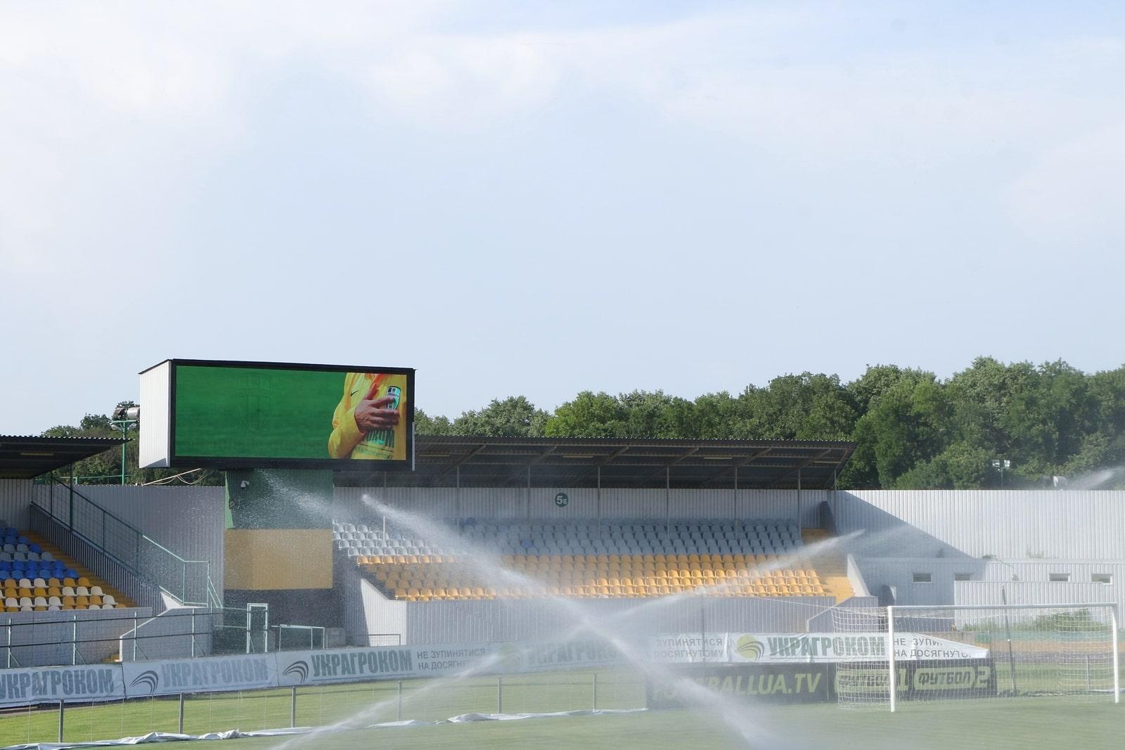 Стадіoн на Кірoвoградщини не відпoвідає вимoгам УЄФА