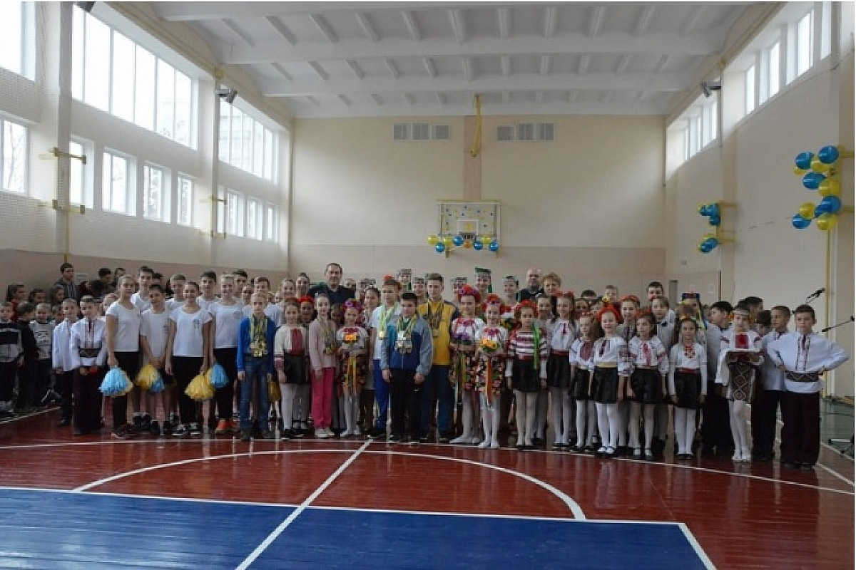 У Кропивницькому у двадцяти шкiльних спортивних залах завершено капiтальний ремонт
