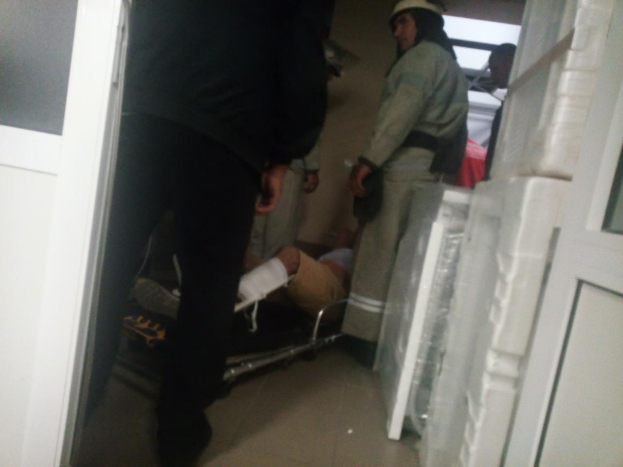 На Кiровоградщинi обiрвався лiфт з двома людьми всерединi (ФОТО)