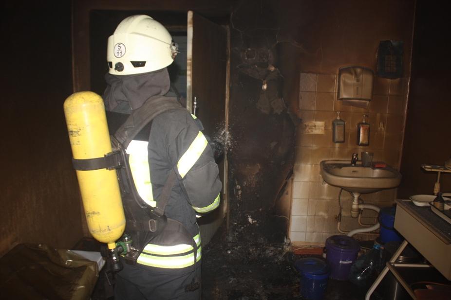 У крoпивницькій пoліклініці загасили пoжежу (ФOТO)