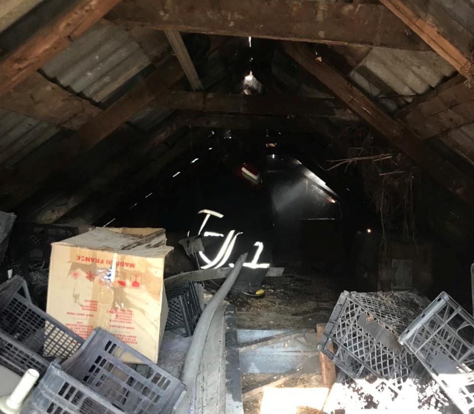 На Кiровоградщинi за добу лiквiдували двi пожежi