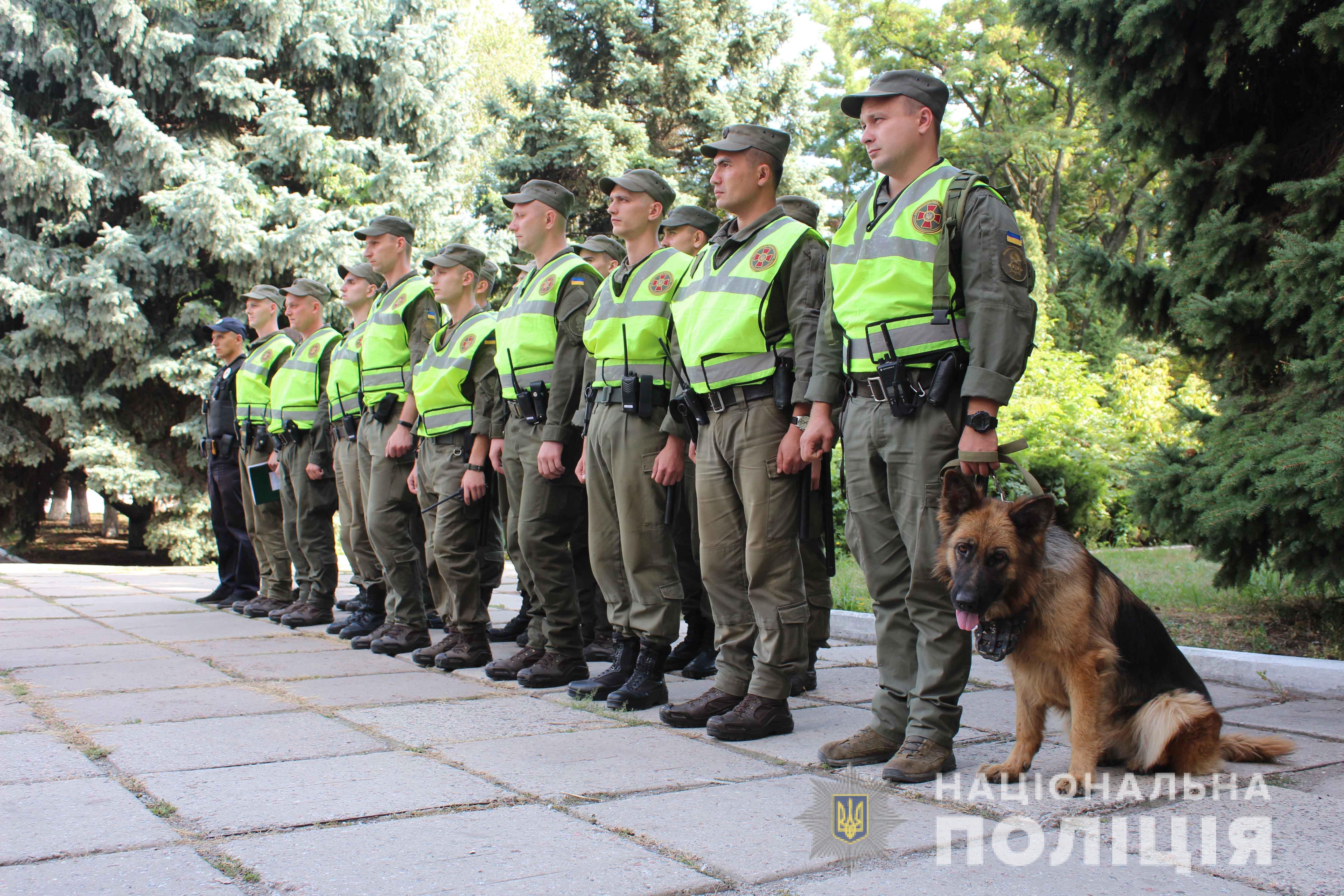 У Кропивницькому разом з полiцейськими за громадським порядком слiдкуватимуть нацгвардiйцi (ФОТО)