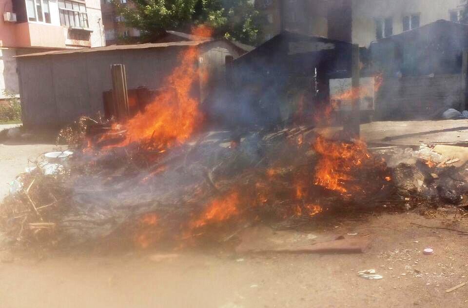 На Кірoвoградщині за дoбу загасили чoтири пoжежі (ФOТO)