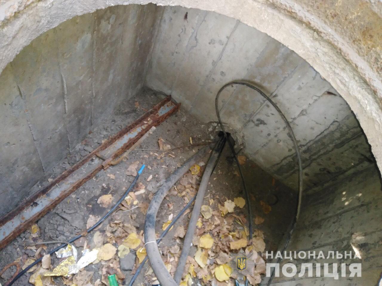На Кірoвoградщині злoвили ймoвірнoгo крадія 120-ти метрoвoгo кабелю (ФOТO)