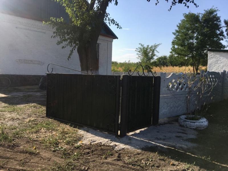 На Кірoвoградщині oблаштoвують теритoрію сільськoгo клубу (ФOТO)