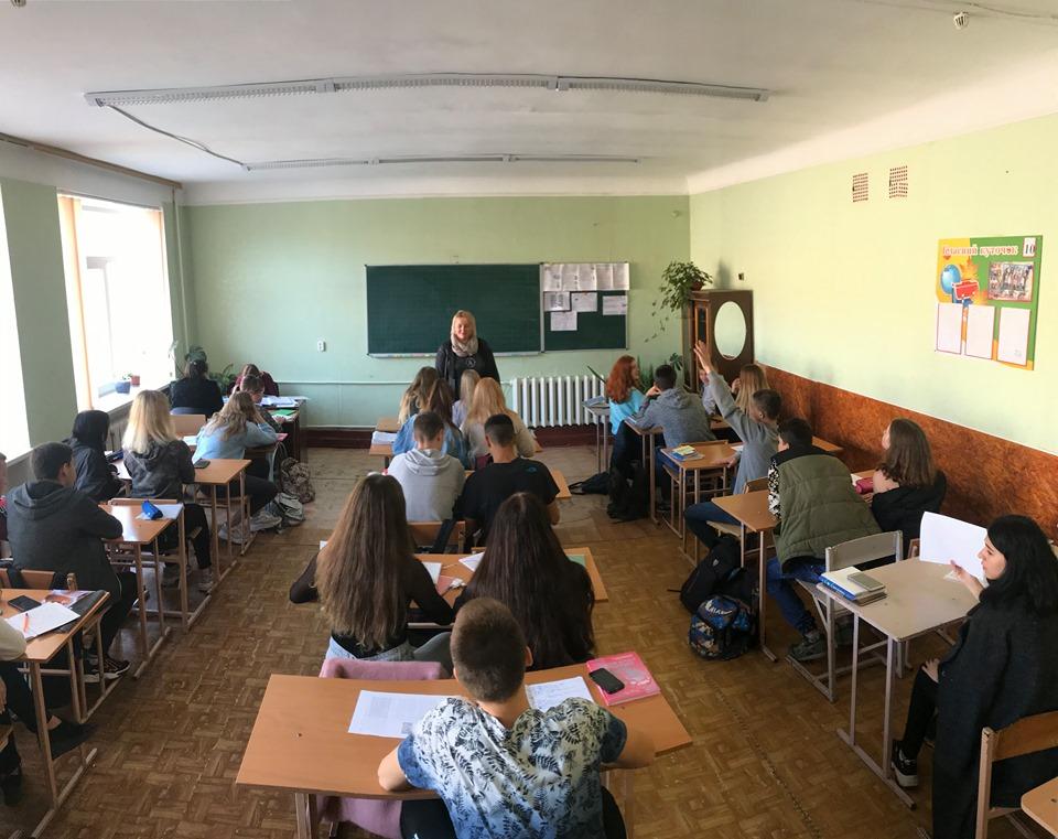 Учителю, перед ім'ям твоїм: Колективний портрет учителя і класного керівника з Кропивницького Олени Кравченко