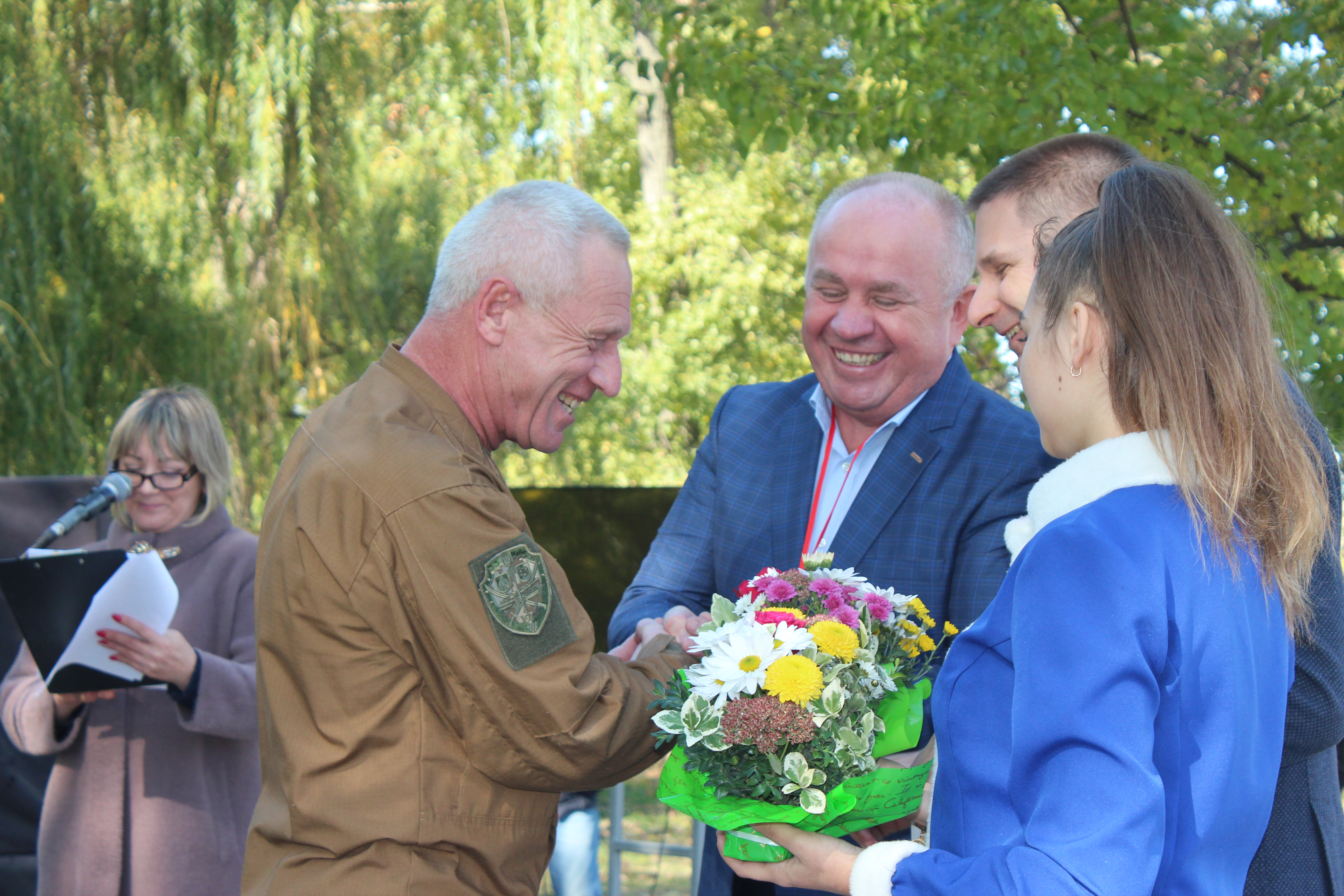 На Козачому острові кропивничани святкували День захисника України  (ФОТО)