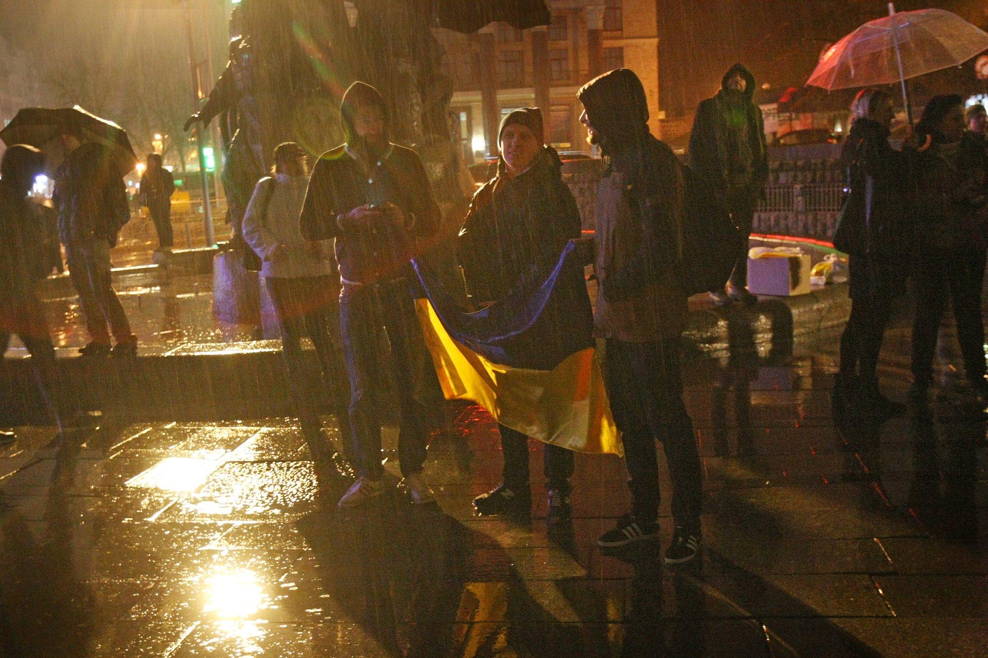"""""""Зустрічаємося о 22:30 під монументом Незалежності"""": шість років тому у столиці розпочалася революція Гідності"""