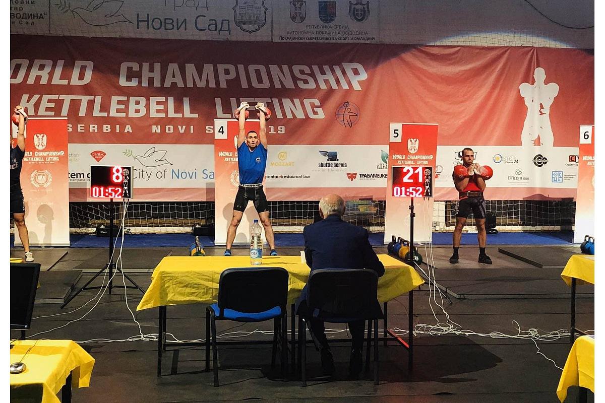Кропивничанин став чемпіоном світу на змаганнях з гирьового спорту (ФОТО)