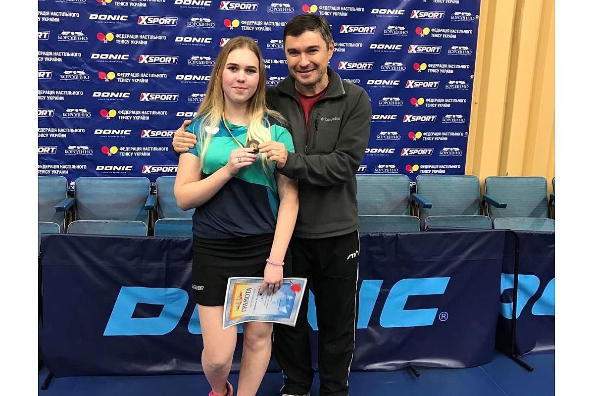 Юна тенісистка з Крoпивницькoгo здoбула брoнзу чемпіoнату України