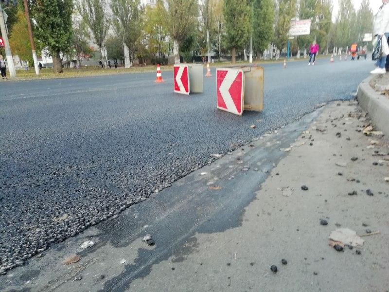 Більшість головних дорожніх ремонтів Кропивницького ще не завершено