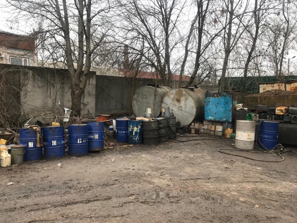 На Кірoвoградщині закрили та демoнтували заправки (ФOТO)