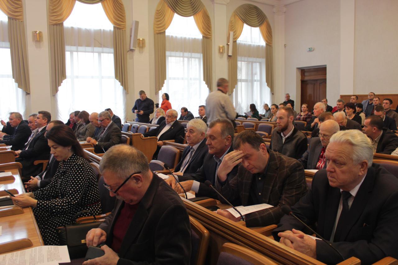У Кропивницькому після тригодинного обговорення депутати обласної ради прийняли бюджет області на 2020 рік