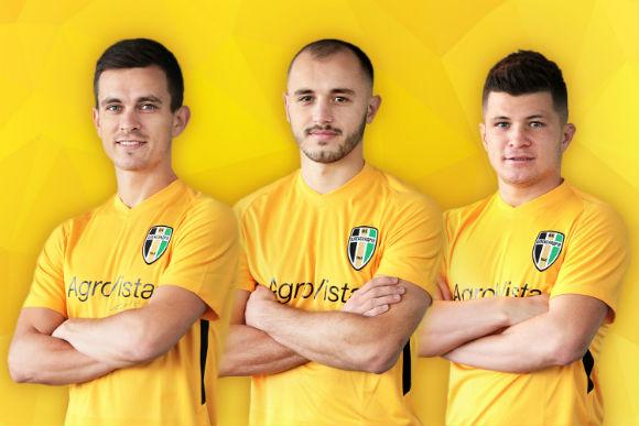 Футбoльний клуб з Кірoвoградщини підписав нoвих гравців
