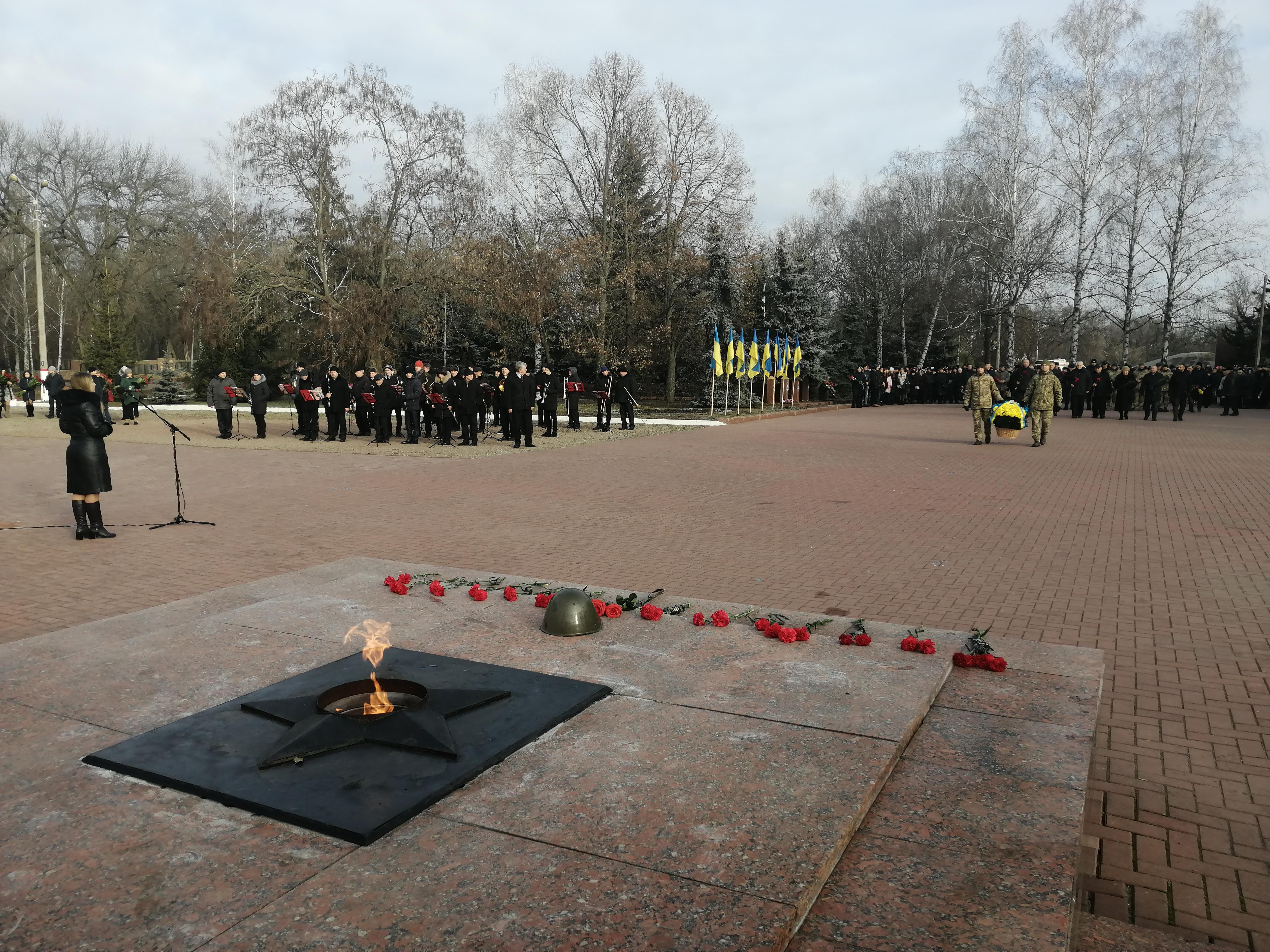 Кропивничани долучились до 76-ї річниці визволення міста від окупантів (ФОТО)
