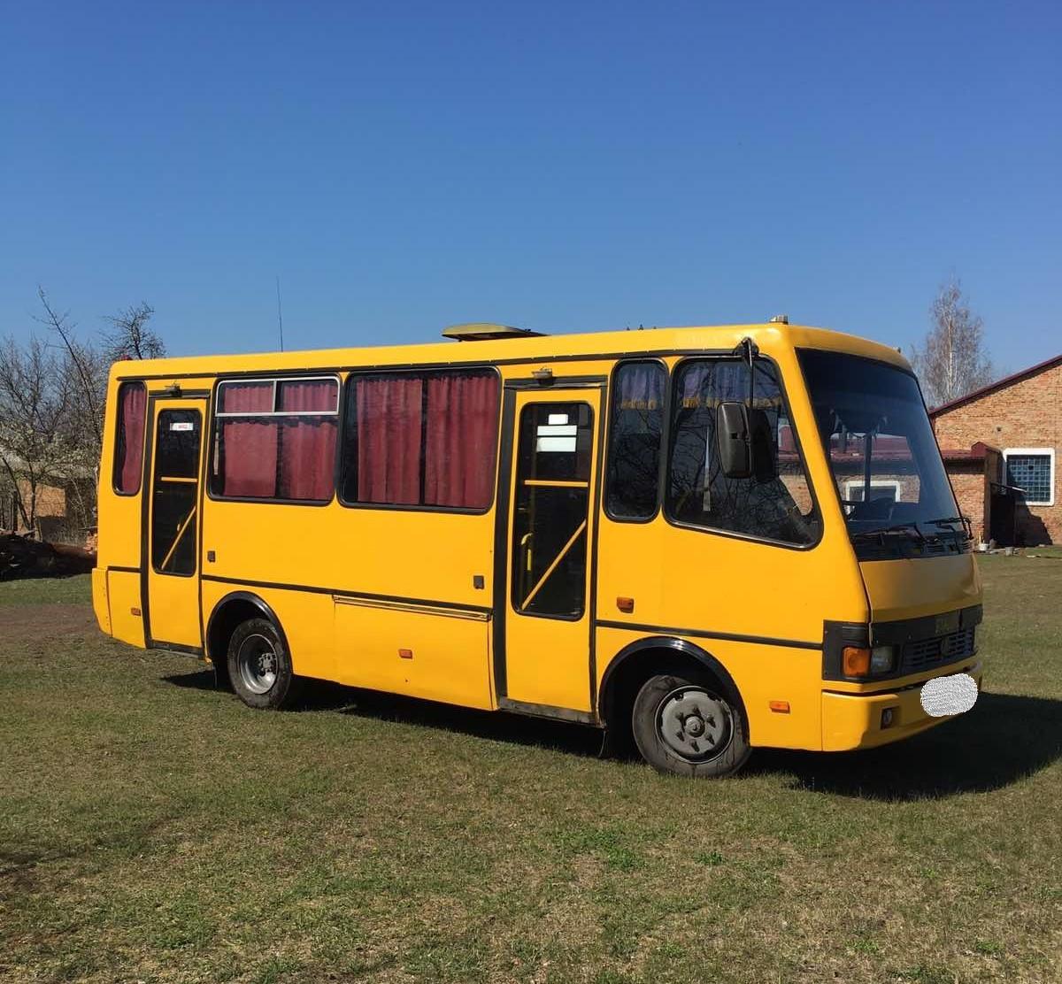 Нa Кіровогрaдщині однa з громaд придбaлa aвтобус вaртістю близько 200 тисяч гривень (ФОТО)
