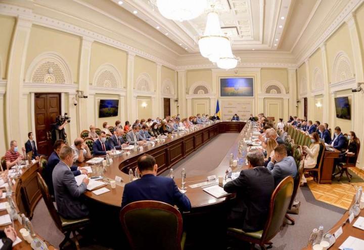 Голова Кіровоградської обласної ради взяв участь у засіданні Консультативної ради з питань місцевого самоврядування