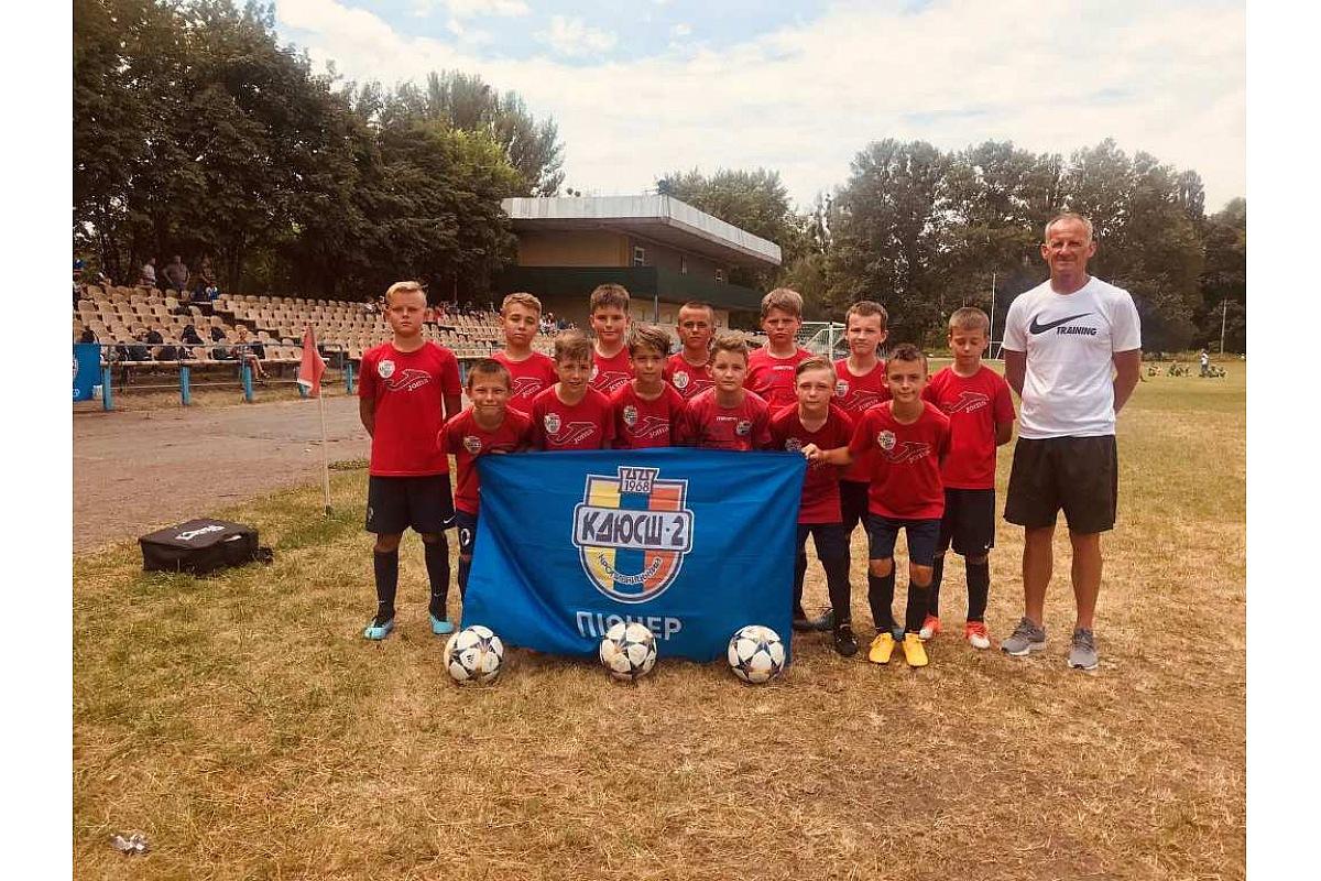 Юні кропивницькі футболісти взяли учaсть у турнірі нa Черкaщині