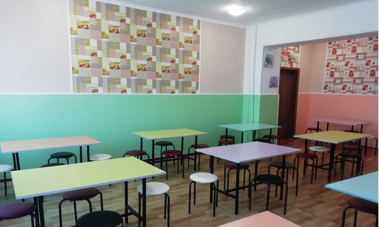 В однiй з шкiл Кiровоградщини вiдремонтували їдальню (ФОТО)