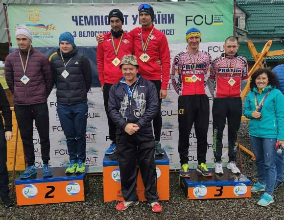 Велосипедисти з Кiровоградщини здобули нагороди на чемпiонатi України